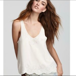Joie Boyd Embroidered Tank
